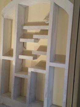 Σχέδιο τοίχου με γύψο